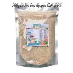 Bột Dừa Cà phê 200g có giấy VSATTP và ĐKKD nguyên chất thiên nhiên 100% dùng để đắp mặt đa công dụng
