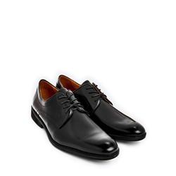 Giày tây nam da bò thật màu trắng T180