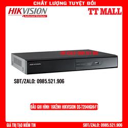Đầu ghi hình 4 kênh TURBO HD 3.0 Hikvision DS-7204HGHI-F1 - BẢO HÀNH 2 NĂM - CHÍNH HÃNG
