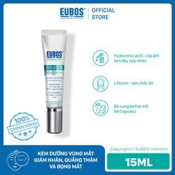 Kem dưỡng vùng mắt giảm nhăn, quầng thâm và bọng mắt EUBOS Anti-age Hyaluron Eye Cream serum 15ml
