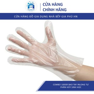 Găng Tay Ni Lông Sinh Học Tự Phân Hủy 100gr GIÁ TỔNG KHO Bao Tay Ni Lông Tự Hủy - 3946474002 thumbnail