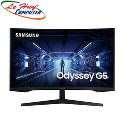 """Màn hình cong Samsung LC27G55TQWEXXV 27"""" 2K 144Hz FreeSync chuyên game"""