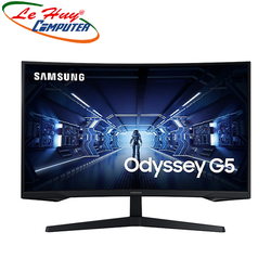 """Màn hình cong Samsung LC32G55TQWEXXV 32"""" 2K 144Hz FreeSync chuyên game"""