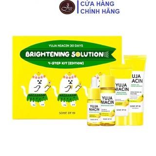 Bộ Kit 4 Món Dưỡng Trắng Sáng Da Mờ Thâm Nám Some By Mi Yuja Niacin 30 Days Brightening Solution - Edition - Bộ Kit 4 Yuja - Edition thumbnail