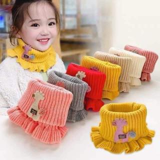 Khăn len ống quàng cổ cho bé đính họa tiết xinh xăn - Khăn len ống cho bé thumbnail