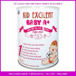 Sữa mát cho trẻ sơ sinh 6-36 tháng Kid Baby A+ 900g (date luôn mới)