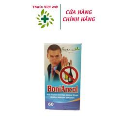 Viên uống BoniAncol giúp làm quên đi cảm giác thèm đồ uống cồn và các thói quen gây nghiện khác