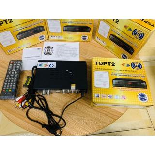 Đầu thu DVB T2 TOP T2 Chính Hãng -Truyền Hình Số Mặt Đất DVB-T2 miễn phí [ĐƯỢC KIỂM HÀNG] 35406795 - 35406795 thumbnail