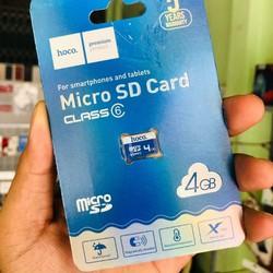thẻ nhớ 4gb - thẻ nhớ hoco  - thiết bị lưu trữ
