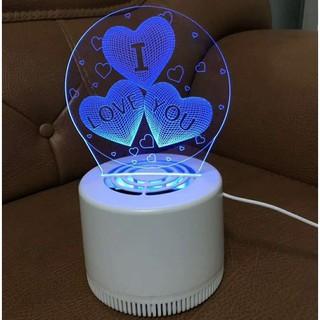 Đèn ngủ - Đèn bắt muỗi 3D đẹp mắt - nhjt thumbnail