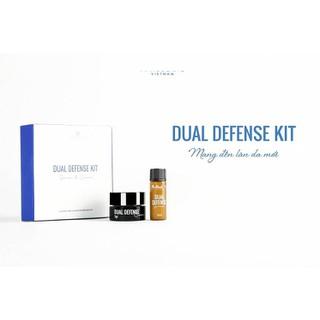 Bộ kit dưỡng trắng, chống lão hóa Dual Defense (1Serum + 1 Kem 5ML) - BỘ KIT NARGUERIT thumbnail
