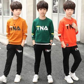 [Siêu hót] Sét bộ quần áo trẻ em thu đông mẫu TNA dành cho cả bé trai và bé gái 5-10 tuổi - Mã TNA thumbnail