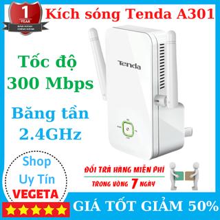 Bộ kích sóng wifi A301 Vô Cùng Mạnh Mẽ Tốc Độ 300 Mbps Trên Tần Số 2,4GHz, Có Cổng Lan - Kích sóng A301 có cổng Lan thumbnail