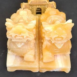 Cặp Tỳ Hưu Ngọc Hoàng Long Có Đế - TH506DE11 thumbnail