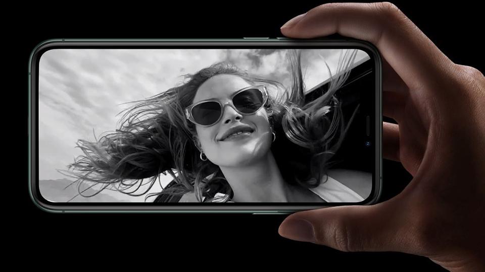 iPhone Pro camera selfie