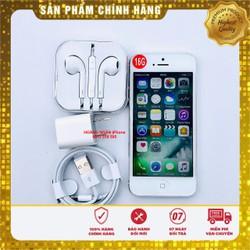 Điện thoại iPhone 5 màu trắng 16GB Quốc tế chính hãng - hàng đã qua sử dụng đẹp như mới