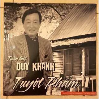 Đĩa than Duy Khánh tuyệt phẩm 1Đĩa than gồm 8 ca khúc chọn lọc do Duy Khánh trình bày - Duy Khánh 1 thumbnail