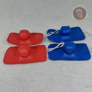 bịt cựa da thái lan - bao êm - 2 cặp cho 2 con gà - PVN140 thumbnail