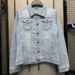 [FLOW giảm 10k] Áo khoác Jeans Áo khoác bò Nam-Nữ Unisex KJ805 ,cotton thun co giãn cao cấp