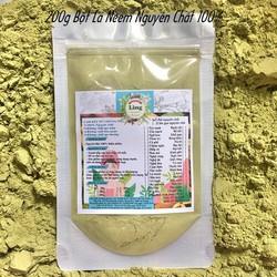 200g Bột Lá neem Ấn Độ sấy lạnh có giấy VSATTP và ĐKKD nguyên chất thiên nhiên 100% dùng để đắp mặt đa công dụng