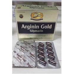 BỔ GAN ARGININ GOLD SILYMARYN - hỗ trợ Thanh nhiệt, mát gan, giải độc và bảo vệ gan, tăng cường chức năng gan