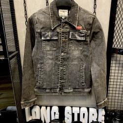 [FLOW giảm 10k] Áo khoác Jeans Áo khoác bò Nam Nữ Unisex KJ7931 ,cotton thun co giãn cao cấp