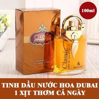 TINH DẦU NƯỚC HOA - TINH DẦU NƯỚC HOA DUBAI CLASSIC 100ML thumbnail