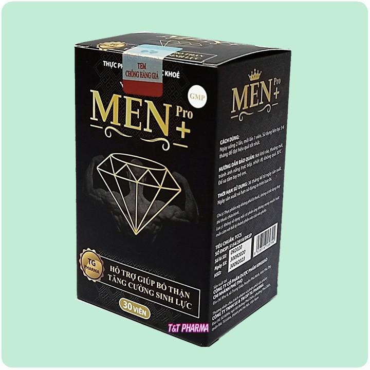 Viên Uống Tăng cường sinh lý cực mạnh Men Pro - Giúp tăng cường sinh lý mạnh hơn, bền vững hơn- hôp 30 viên - cường sinh lý cực mạnh Men Pro 5