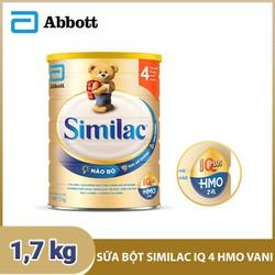 [Hà Nội] Sữa bột Similac IQ 4 HMO hương vani 1.7kg
