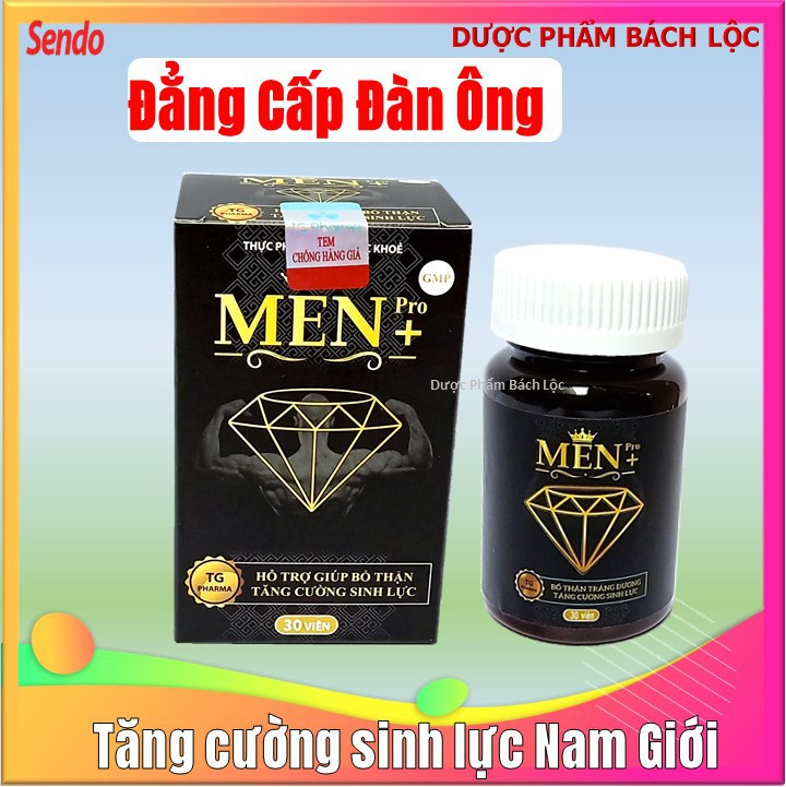 Viên Uống Tăng cường sinh lý cực mạnh Men Pro - Giúp tăng cường sinh lý mạnh hơn, bền vững hơn- hôp 30 viên - cường sinh lý cực mạnh Men Pro 3