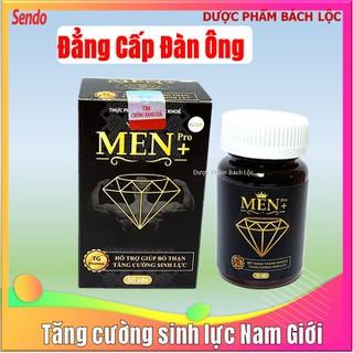 Viên Uống Tăng cường sinh lý cực mạnh Men Pro - Giúp tăng cường sinh lý mạnh hơn, bền vững hơn- hôp 30 viên - Tăng cường sinh lý cực mạnh Men Pr 1