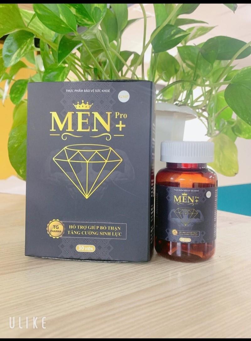 Viên Uống Tăng cường sinh lý cực mạnh Men Pro - Giúp tăng cường sinh lý mạnh hơn, bền vững hơn- hôp 30 viên - cường sinh lý cực mạnh Men Pro 8