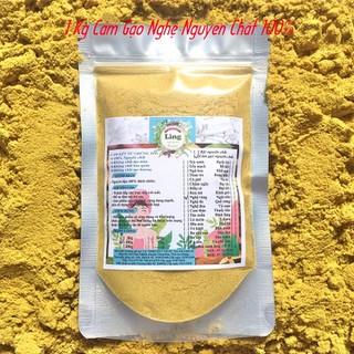 Bột Cám gạo Nghệ 1 Kg có giấy VSATTP và ĐKKD nguyên chất thiên nhiên 100% dùng để đắp mặt đa công dụng - Cám gạo Nghệ - 01 thumbnail
