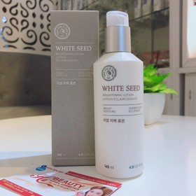 [The Face Shop SALE SOCK 50%] Sữa Dưỡng Ẩm Sáng Mịn White Seed Brightening Lotion white seed the face shop - 7156271465