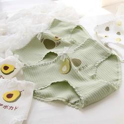 Sét Bộ Đồ Thời Trang Quần Áo Nữ Đón Hè Siêu Xinh Cute Mặc Đi Chơi, Áo Cotton In 3D Hoạt Hình Cartoon Quả Bơ Kèm Quần Đen Thun Bo Chun Gấu Phong Cách