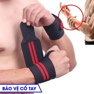 Băng Quấn Bảo Vệ Cổ Tay Tập Thể Thao Tập Gym - BQBVCT thumbnail