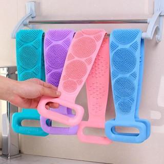 kỳ lưng dụng cụ nhà tắm Đai cọ lưng silicol 60cm - kỳ lưng dụng cụ nhà tắm thumbnail