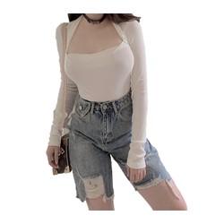 Quần jean ngố / lửng BIG SIZE lưng cao,túi nắp, phom RỘNG đẹp thời trang Molijean hot trend dành cho người béo 3519