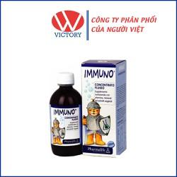 Siro Immuno - Hỗ trợ chống oxy hóa, phòng ngừa các bệnh dễ mắc do hệ miễn dịch suy giảm cho bé