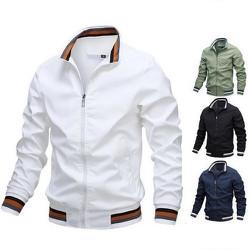 [Miễn phí vận chuyển] Áo Khoác Dù Nam Phối viền Cao Cấp Form Chuẩn Đẹp-Có túi trong, nhiều màu