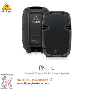 Loa Passive BEHRINGER PK110 - 500-Watt 10 - PK110 thumbnail