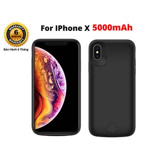 Ốp Kiêm Pin Sạc IPHONE X X2M New Dung Lượng 5000 mAh - MSN181327 thumbnail