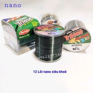 cước câu cá triline x12 nano siêu khỏe 500m cước mỹ - cước câu cá triline x12 nano siêu khỏe 500m thumbnail