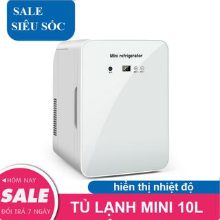 Tủ lạnh 10L Tủ lạnh - Tủ lạnh hiển thị nhiệt độ thumbnail