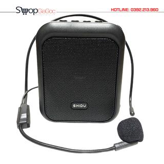 Loa Trợ Giảng Có Dây Hỗ Trợ Nghe Nhạc Bluetooth 5.0 SHIDU SD-M100 - Hàng Chính Hãng - SHIDU SD-M100 thumbnail