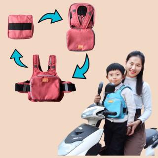 [Hàng cao cấp] Đai đi xe máy,cao cấp, an toàn cho bé, vải cotton thoáng nhẹ,có túi đựng đồ, phản quang, mềm mại - DAI thumbnail