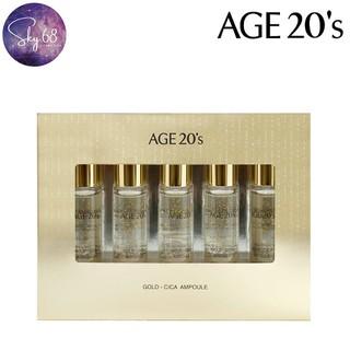 Set Tinh Chất Dưỡng Tái Tạo Da, Trị Mụn, Ngừa Lão Hóa Age20 s Gold - Cica Ampoule (Set 5ea) 10ml x 5 - Age20 s.Set5-Serum thumbnail