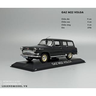 Mô hình xe Volga - VolgaDeA thumbnail