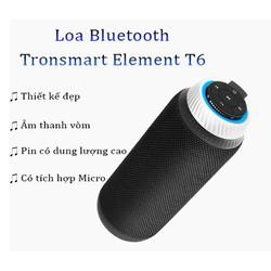 Loa Bluetooth, Loa không dây, Loa di động không dây ngoài trời, âm thanh vòm 360 độ tích hợp Microphone Tronsmart Element T6