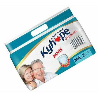 Tã quần người lớn Kyhope M L bịch 7 miếng - Quần Kyhope thumbnail